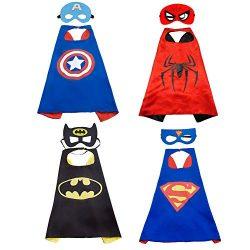 Capas de Superhéroes 65x65cms