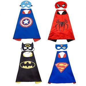 Capas de superhéroes con antifaz