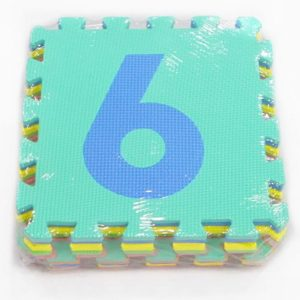 Alfombra pack 10 cuadrados 29x29cms, 9mm grosor – Números