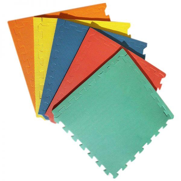 Alfombra Colores cuadrados 50x50cms, 10mm grosor