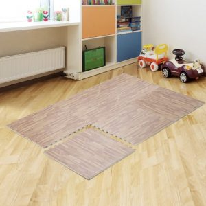 Alfombra diseño piso flotante 60×60, 10mm grosor,