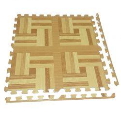 Alfombra Diseño Parquet 60x60cms madera