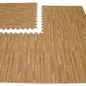 Alfombra diseño piso flotante 60×60, 10mm, claro