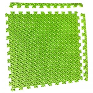 Alfombra Diamantada Verde 60×60, 11mm.