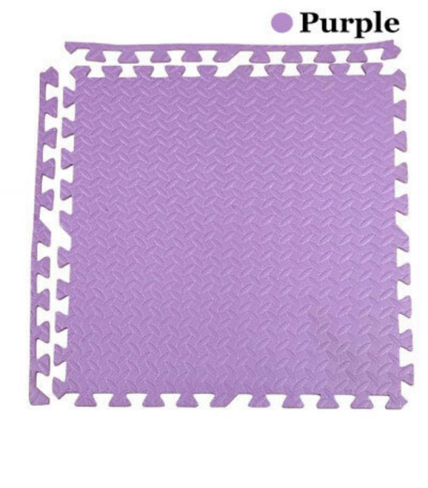 Alfombra Diamantada Morada 60×60, 11mm.