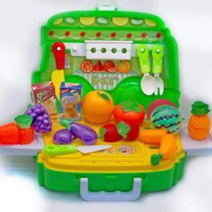 Set Frutas Y Verduras Para Cortar 30pcs