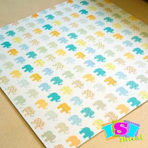 Alfombra diseño Elefantes