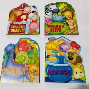 Libros Infantiles tapa dura, set B