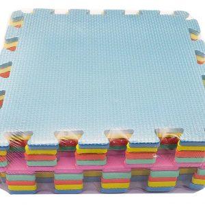 Alfombra pack 10 cuadrados lisos 29.5×29.5cms, 8mm grosor