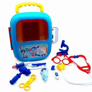 Set Doctor- Doctora en maleta con ruedas