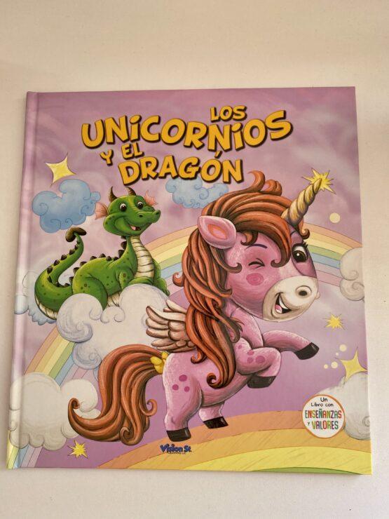 Libros Infantiles. Los Unicornios y el dragón