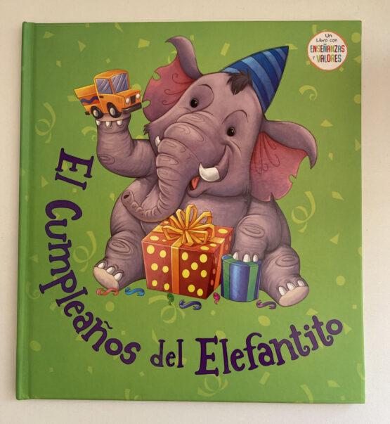 Libros Infantiles. El cumpleaños del elefantito