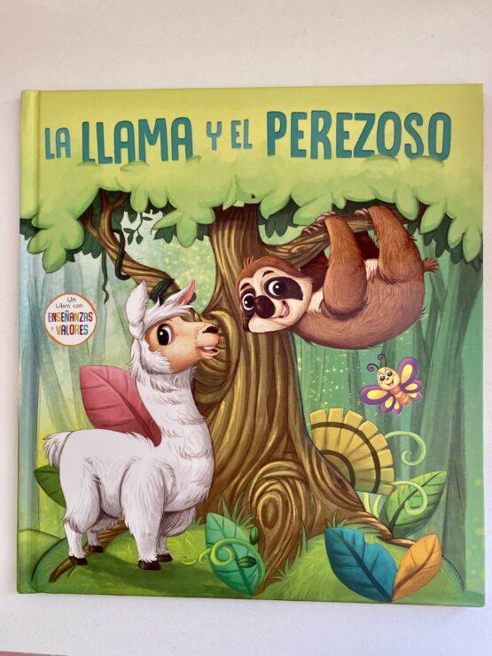 Libros Infantiles. La Llama y el perezoso