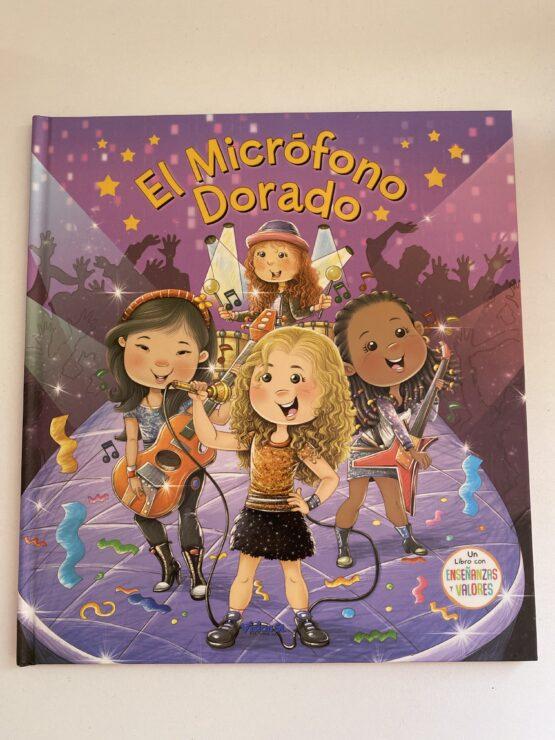 Libros Infantiles. El micrófono dorado