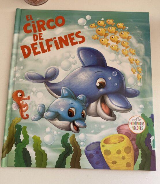 Libros Infantiles. El circo de delfines