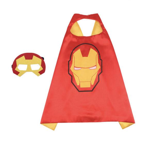 Capa superhéroe con antifaz, Iroman
