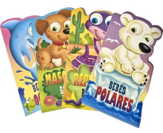 Libros Infantiles tapa dura, animales bebés 1