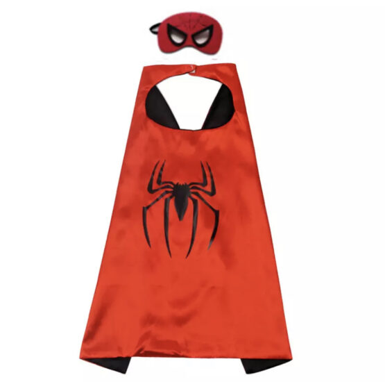 Capa superhéroe con antifaz, Spiderman