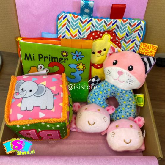 Cajita sensorial día del niñ@ – rosado