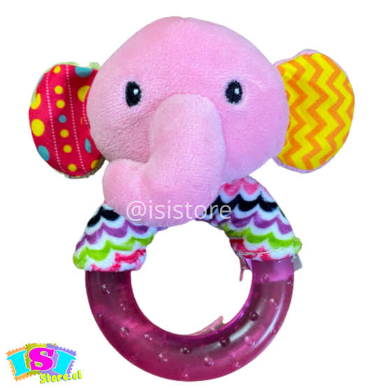 Sonajero mordedor elefante