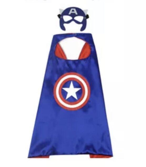 Capa superhéroe con antifaz, Capitán America